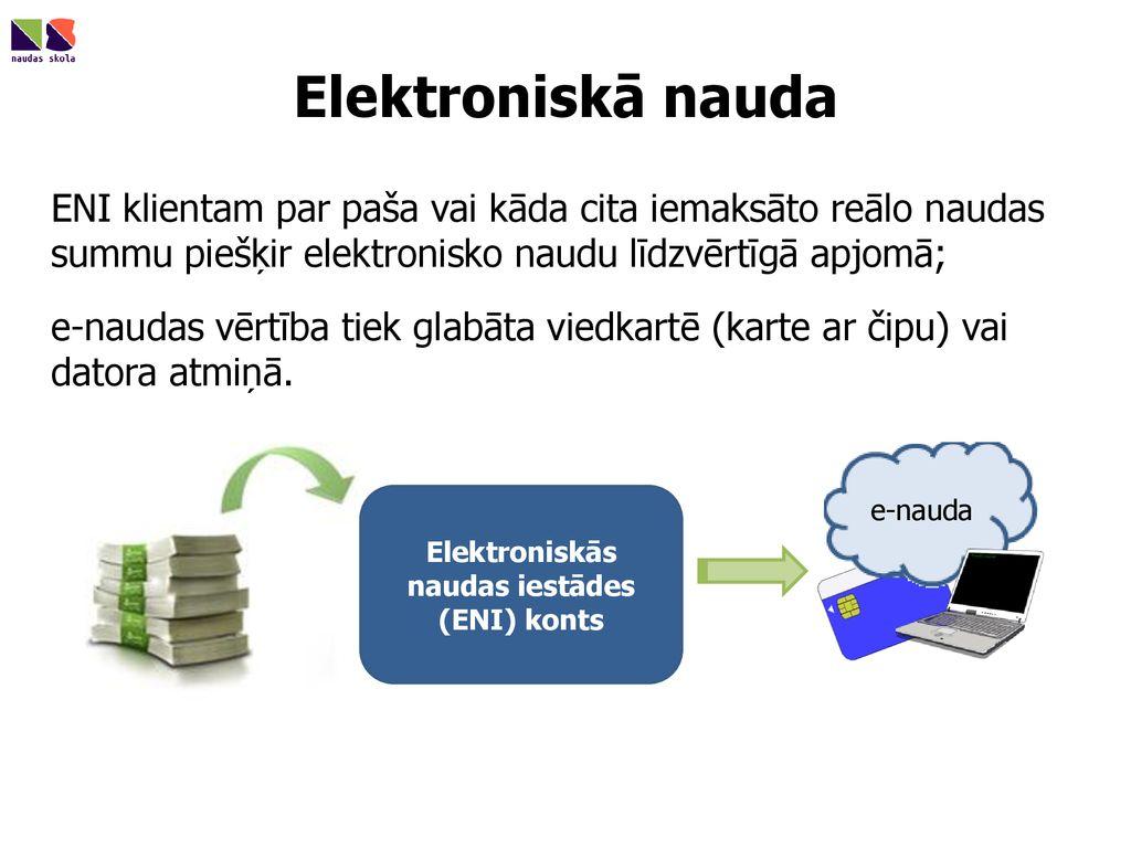 nopelnīt naudu elektroniskā kontā