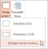 Opcijas > Outlook Web App versija