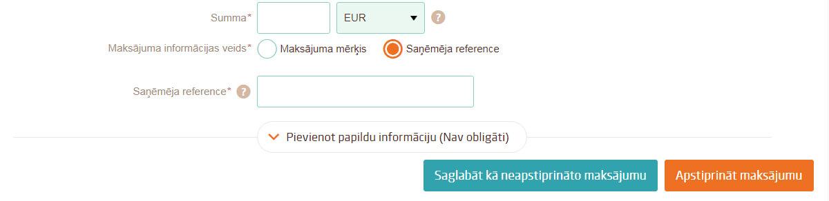 attālinātie ieņēmumi ar ikdienas maksājumu)