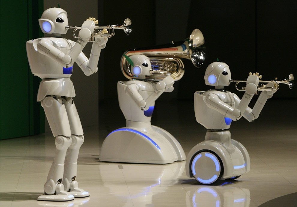 tirdzniecības robotu apmācība