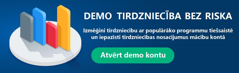 demo konts tirdzniecības platformā)