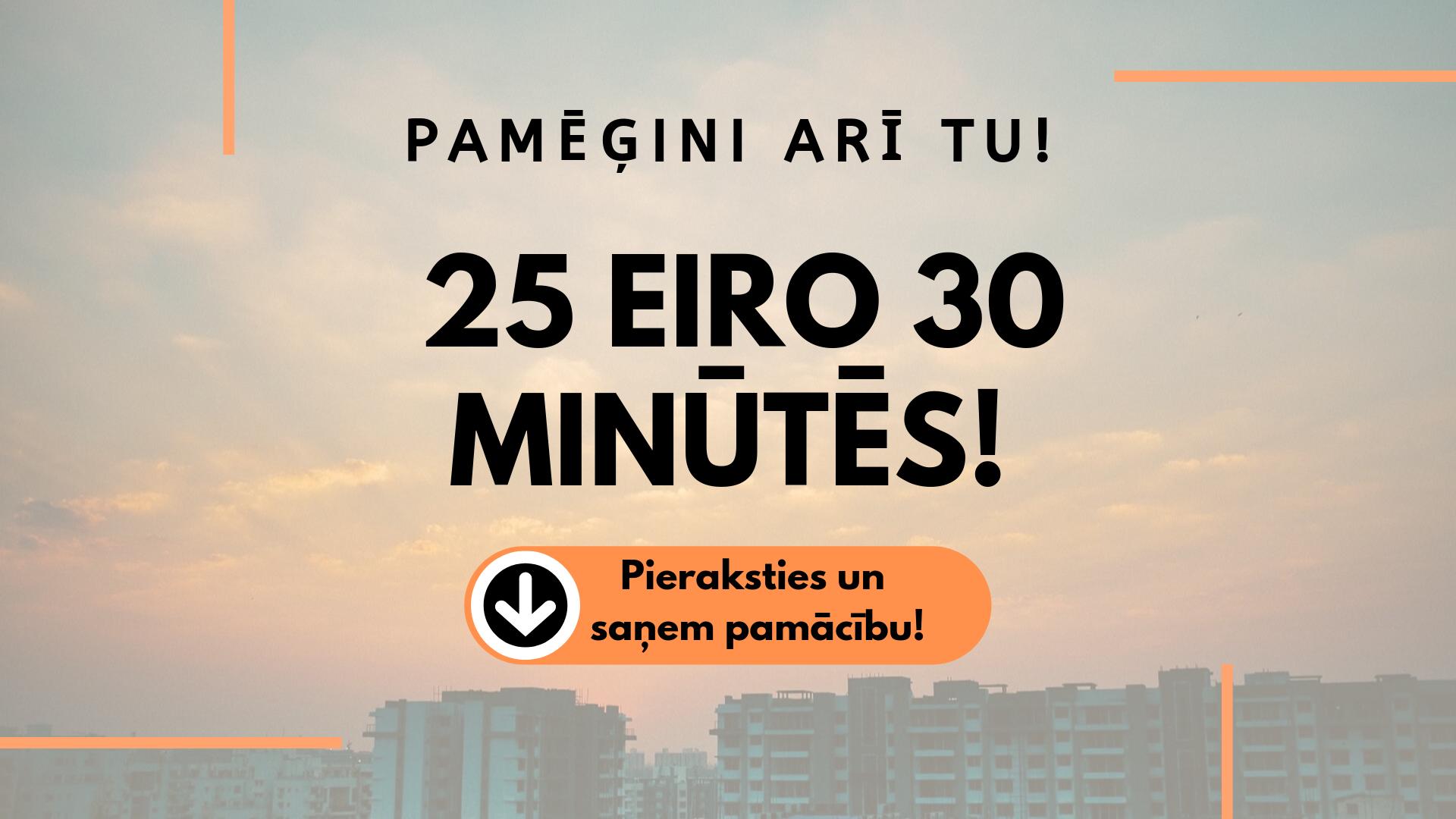 kā nopelnīt naudu internetā 5 minūtēs