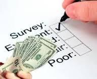 Saņemiet naudu par anketu aizpildīšanu. Anketu par naudu aizpildīšana internetā tiešsaistē