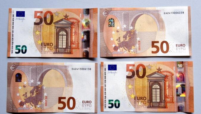 ECB Eiro kursi nauda no zila gaisa, kas ir binārās opcijas