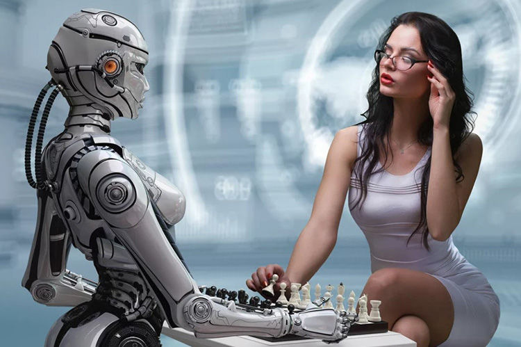 tirdzniecība, izmantojot robotus)