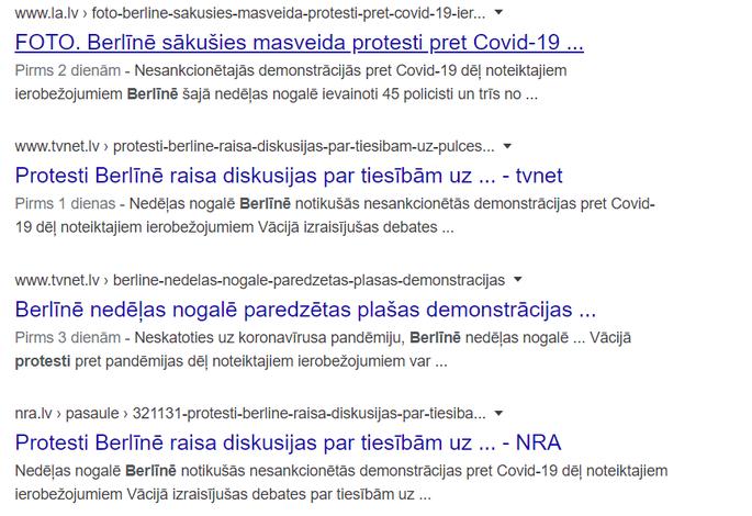 nedēļas nogales demonstrācijas konts)