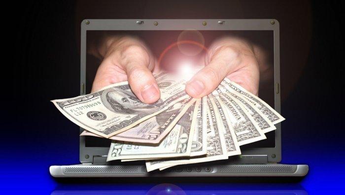 ātra liela nauda internetā