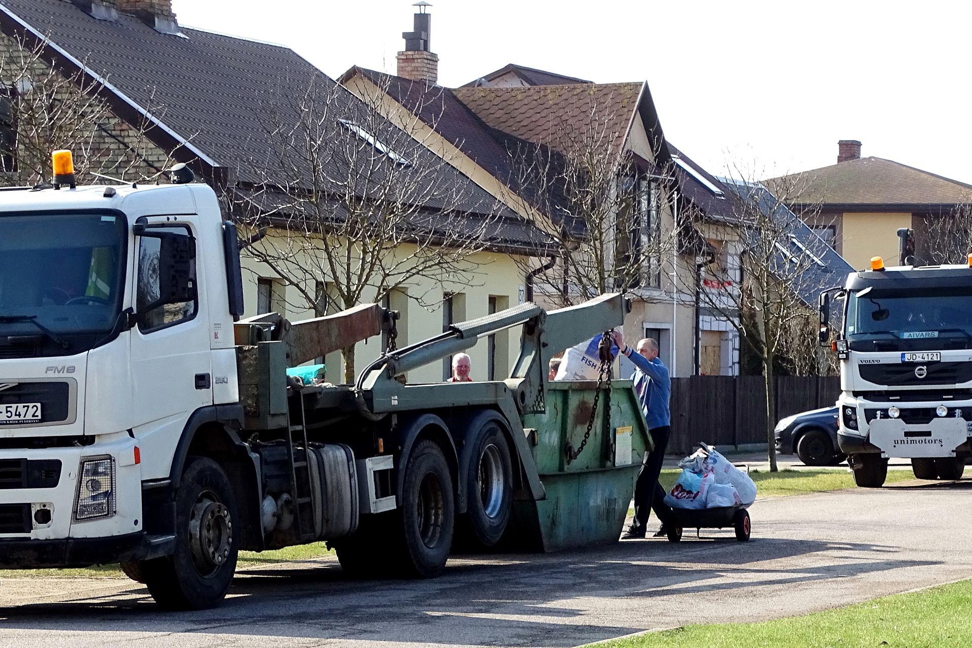 Zaļo un dārza atkritumu savākšanas akcija