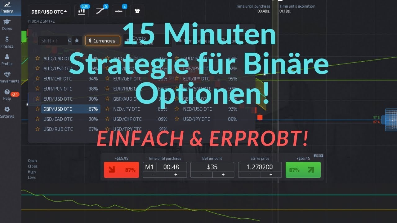 pārskata bināro opciju stratēģijas