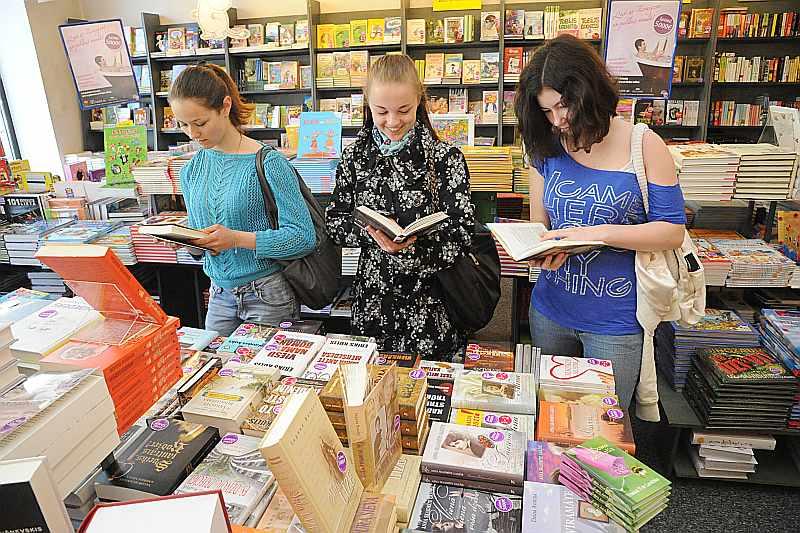 literatūras tirdzniecība