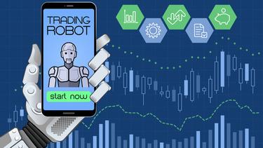 demonstrācijas tirdzniecības roboti)