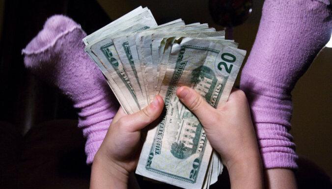 dēls nepelna naudu)