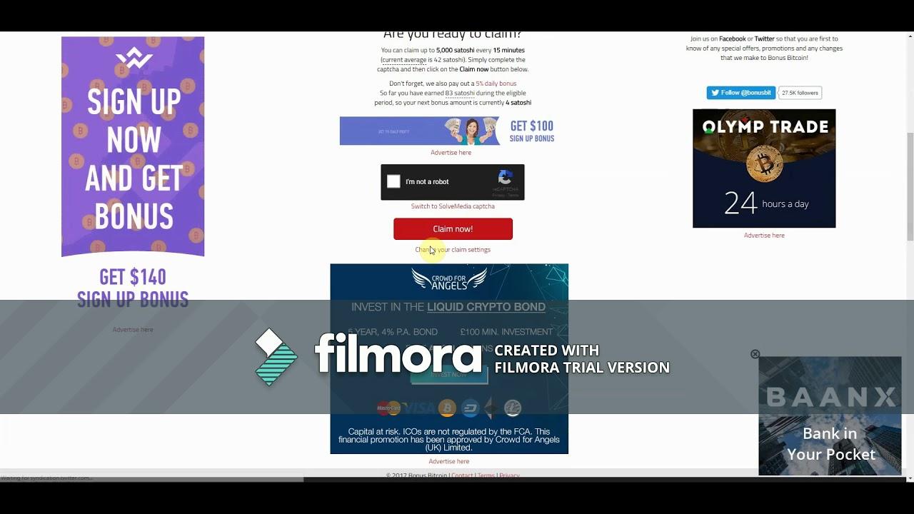 video ieņēmumi vietnē bitcoins
