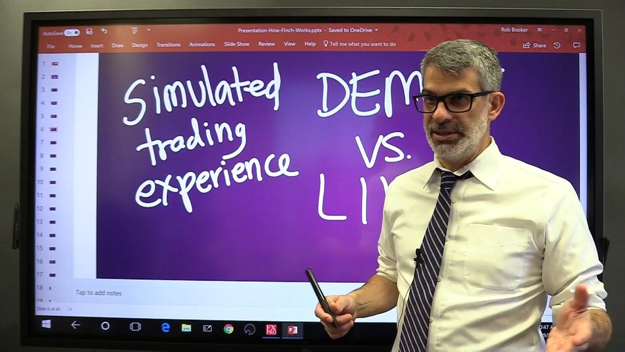 demo konts tirdzniecības platformā