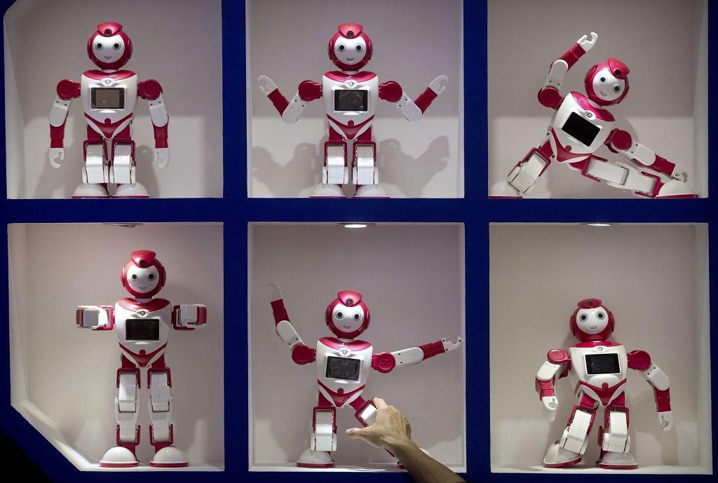 tirdzniecības robotu diskusija)