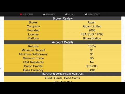 Binārā opcija alpari tirdzniecība automatizēta bināro opciju