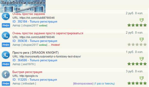 pārbaudīti ienākumi internetā transkripcijai)