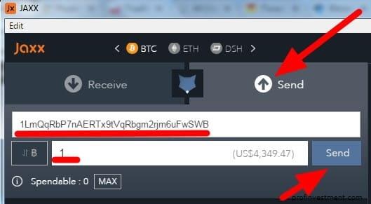 vietējā bitcoin pārsūtīšana)