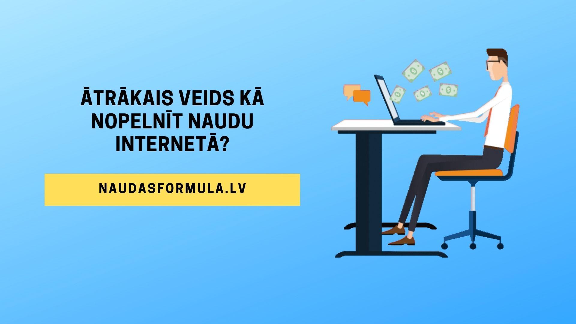 Pelnīt Naudu Internetā Bez Ieguldījumiem