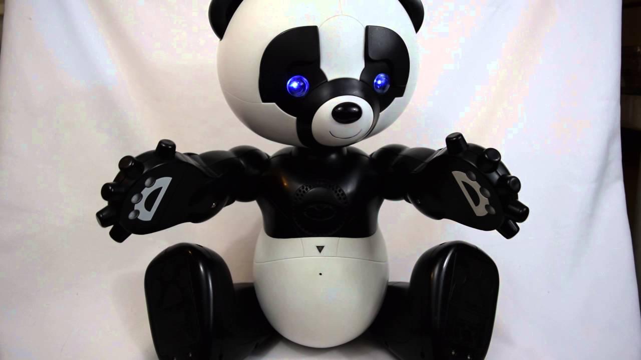 pēc izvēles robotu panda