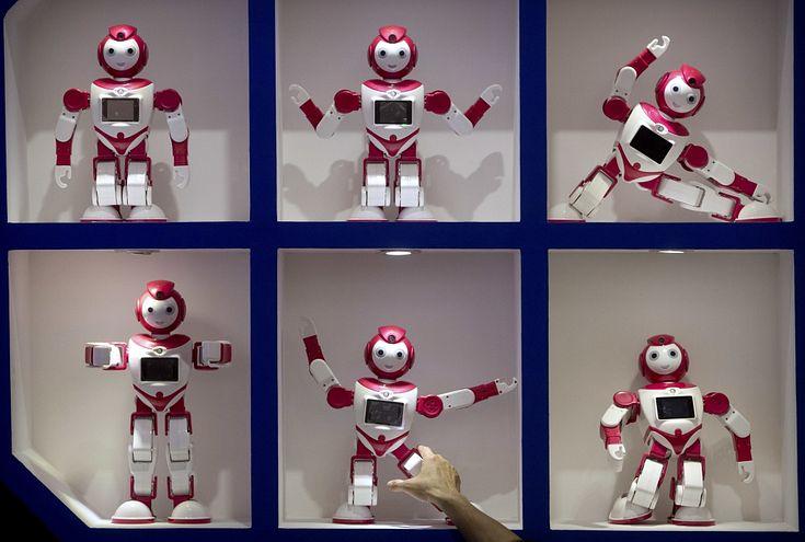 robota izmantošana tirdzniecībā)