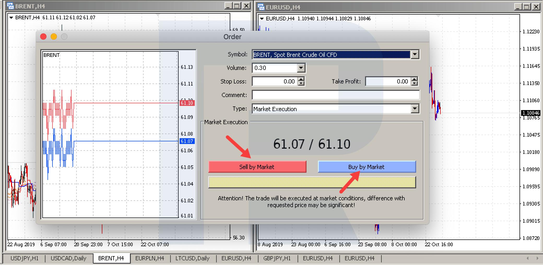 kā atvērt citu demo kontu