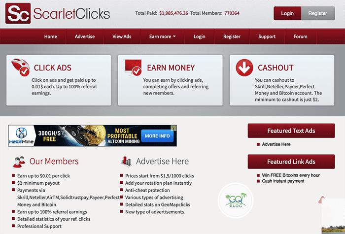 vietnes, kurās tiek nopelnīti bitkoini