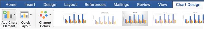 Tendences vai mainīgu vidējo vērtību līknes pievienošana diagrammai - Office atbalsts