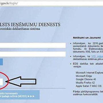 interneta ieņēmumu pārskaitījumi