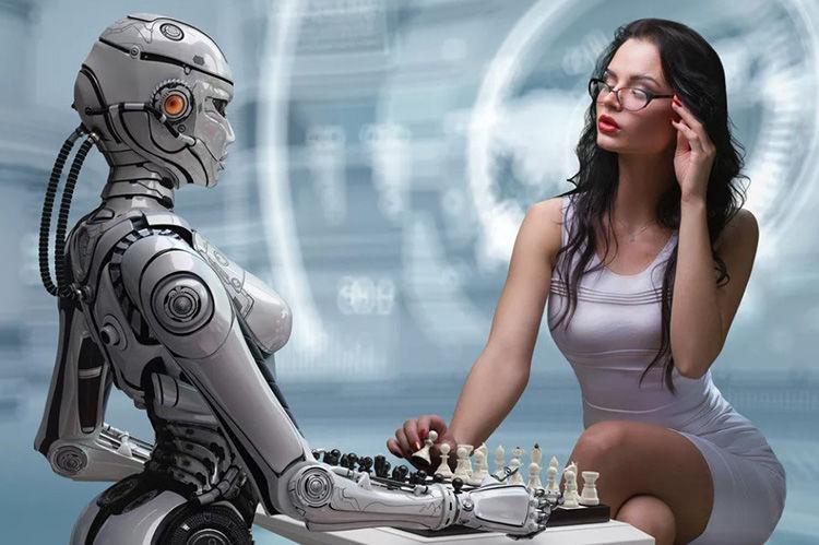 tirdzniecība, izmantojot robotus