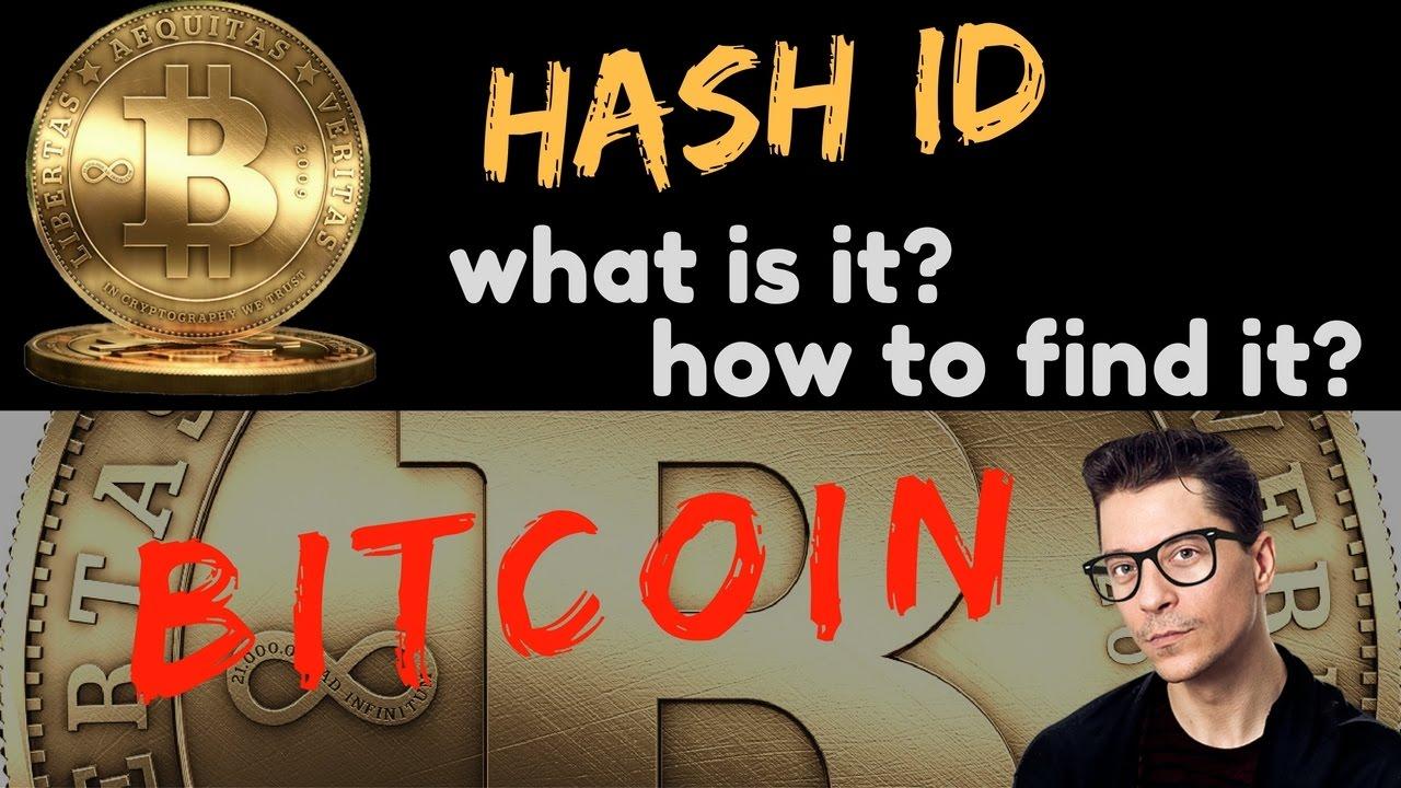bitcoin get id)