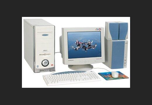 dators tirdzniecībai ar trim monitoriem pirkt
