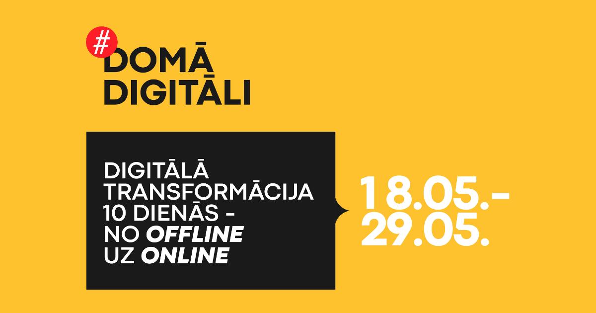 Digitālā aģente: digitālie rīki – iespēja ietaupīt laiku un naudu