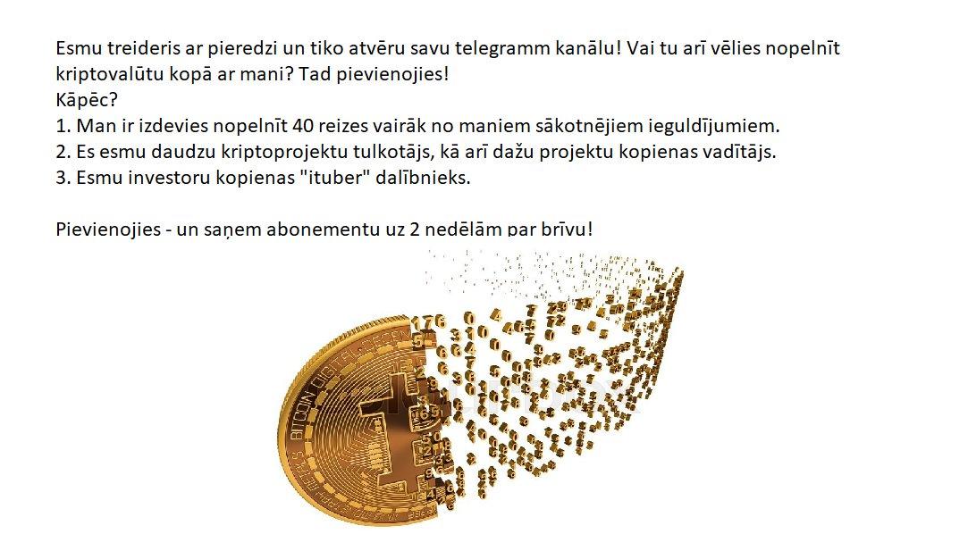 vai ir iespējams nopelnīt naudu ar bitcoin